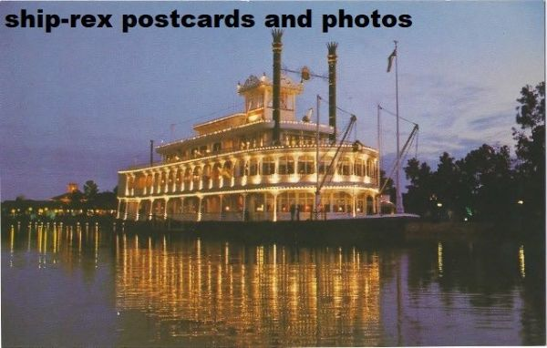EMPRESS LILLY (Walt Disney World) postcard (a)